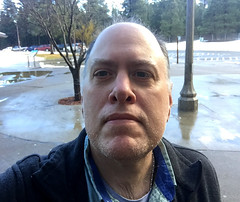 Day 2223: Day 33: Rest area (knoopie) Tags: february indianjohnhillrestarea 2018 iphone picturemail doug knoop knoopie me selfportrait 365days 365daysyear7 year7 365more day2223 day33