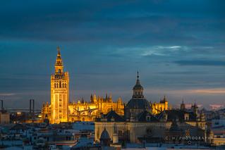 Tower Light - Seville, Spain