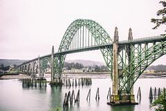 Yaquina Bay Bridge (Thomas Hawk) Tags: america newport oregon oregoncoast usa unitedstates unitedstatesofamerica yaquinabaybridge bridge us fav10 fav25