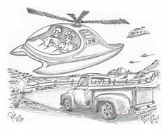Naked Pirate Beach (rod1691) Tags: myart art sketchbook bw scifi grey concept custom car retro space hotrod drawing pencil h2 hb original story fantasy funny tale automotive illistration greyscale moonpies sketch sexy naked