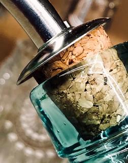 A cork in the bottle