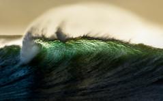 Green Lip || Bronte (David Marriott - Sydney) Tags: bronte newsouthwales australia au wave sea sunrise dawn lip