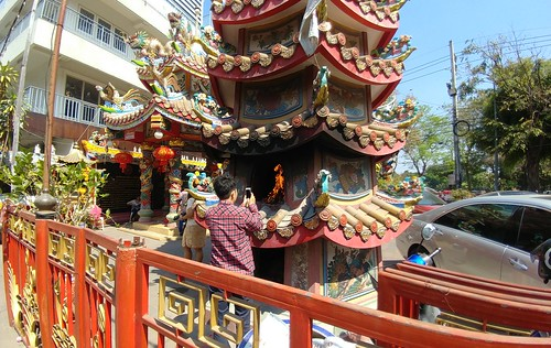 Chinese New Year's Eve in Chiang Mai