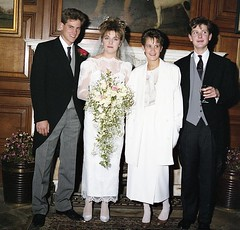 Bride and groom with best man and his other half? (vintage ladies) Tags: easthaddon28101986 easthaddon wedding 80s 80swedding 80sstyle bride weddingdress groom brideandgroom female woman lady lovely beauty ladies women 80swoman 80sladies 80slady portrait people vintage