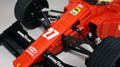 FerrariF189_03 (RoscoPC) Tags: ferrrari f1 lego f189 640 v12 nigel mansell papera gerhard berger john barnard shift paddle wheel engine steering suspension gearbox