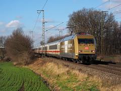 DB 101 071 (jvr440) Tags: trein train spoorwegen railroad railways salzbergen db deutsche bahn br 101 werbelok