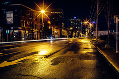 Alone in the night (Arutemu) Tags: a7rii america american columbus ilcea7rii midwest sony sonya7rii tokina tokinarmc2870mmf4 us usa unitedstates city cityscape manualfocus mirrorless night nightstreet nighttime nightscape nightshot urban view ville vintagelens nightview nightfall ciudad citylights 夜 夜景 夜光 夜の町 夜の街 夜の景色 アメリカ 米国 美国 コロンバス 光景 都市 都市景観 都市の景観 都会 街 街道 街並み 街灯 町 風景 見晴らし