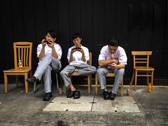 Wanchai 灣仔. Hong Kong (H.L.Tam) Tags: 香港 香港生活 life hklife iphone6s iphoneography wanchai 香港人 street hltam mobilephone 人 hongkonglife streetphotography hongkong iphone hongkongman 街 灣仔 生活 documentary photodocumentary people