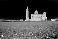 Ta' Pinu (albireo 2006) Tags: tapinu church blackwhitephotos blackandwhite blackandwhitephotos blackwhite bw bn gozo malta