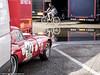 2017 Zandvoort Historic GP: Jaguar E-type (8w6thgear) Tags: zandvoort historic gp grandprix 2017 jaguar etype sportscar nkhtgt reflection bicycle paddock