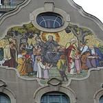 Innsbruck, Tirol, state of Austria (the art of very historic buildings not far away from the center of Innsbruck) - Canisianum (Tschurtschenthalerstraße/Kaiserjägerstraße)