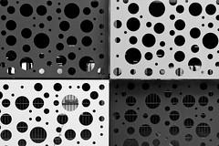 - hole in hole I - (-wendenlook-) Tags: sw bw monochrome grafic graphic architektur architecture geometrisch geometric löcher holes sony a7ii alpha7ii 3528 35mm 180 f50 iso100 zeiss