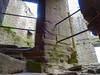 DSC04216a (Dunnock_D) Tags: uk unitedkingdom britain england shropshire ludlow castle stone walls window stairs steps staircase spiral