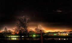 What a night!!!🌟😀🌟😀🌟 (LeanneHall3 :-)) Tags: sky stars stargazing lights nightphotography nightshot night astrophotography eastpark hull kingstonuponhull landscape lake trees branches longexposure canon 1300d hdr