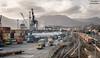 Porto di La Spezia (Anteriorechiuso Santi Diego) Tags: laspezia work port workers truck
