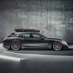 Porsche Panamera Sport Turismo Rendering (VossenWheels) Tags: porsche panamera sport turismo wagon estate gt gts v8 turbo