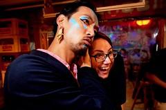 berzerkers (troutfactory) Tags: ricohgrii portrait digital facepaint blue art artist event pikaspace ピカスペース 大阪 関西 日本