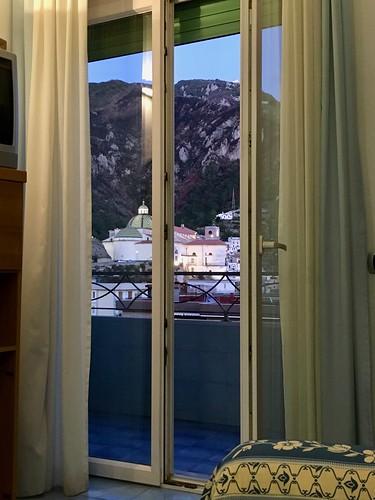 Italie, Maiori, la Collégiale Santa Maria a Mare vue de notre salon