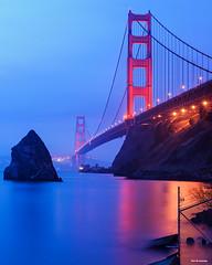 Fort Baker (davidyuweb) Tags: fort baker sanfrancisco goldengatebridge blue hour luckysnapshot longexposure sfist