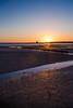 Good Start (Steve Meadows Photography) Tags: tower refuge mann isle man douglas sunrise start day glorious blue sky sun winter beach groynes bay sea seascape