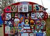 stickercombo (wojofoto) Tags: amsterdam graffiti streetart netherland nederland holland ndsm wojofoto wolfgangjosten wojo stickers sticker stickercombo stickerart nol dotsy bunnybrigade psyco späm jdpk garde