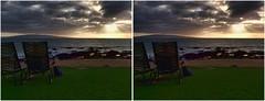 Maui Sunset in 3D (turbguy - pro) Tags: maui 3d crosseye stereo crosseyes crossview