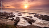 St Ives Bay Sunset (hank photography) Tags: atlantic kernow 2018 january winter jpargeter england hankphotography southwest nikon d90 colour longexposure copyright©2018johnpargeter ocean 447786967022 nikond90 seascape cornwall gwithian