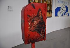 Cat (HBA_JIJO) Tags: streetart urban pochoir c215 stencil paris animal art france hbajijo chat cat exposition museum pochoiriste urbain urbaine boitesauxlettres box postale culture laérosol peinture painting