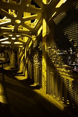 So much love around the Industrial Revolution (Mont.Blanc.Photography) Tags: newcastle love locks high level bridge gateshead shadows industrial revolution robert stephenson