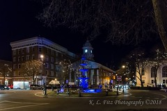 Memorial Square in Blue (kevnkc2) Tags: stdntsdoncooper lightroom pennsylvania winter historic downtown icefest ice sculpture chambersburg nikon d610 franklin county tamron 2470mmg2 sp2470mmf28divcusdg2a032