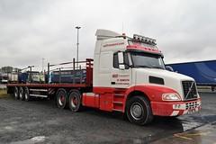 DSC_0016 (richellis1978) Tags: truck lorry haulage transport logistics cannock mdf great yarmouth volvo bonneted nh nh12 n12mdf