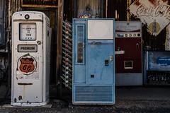 Gas pump soda pop (Jim Nix / Nomadic Pursuits) Tags: americana arizona cocacola coke hackberry hackberrygeneralstore jimnix luminar macphun nomadicpursuits phillips66 route66 royalcrowncola sony sonya7ii antique gaspump travel vintage