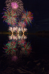 Fireworks 2013 (poormommy) Tags: fireworks globalfest globalfest2013 color night light reflection water pond agcg agcgwinner 15challengeswinner