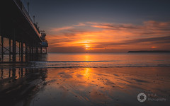 Torbay Dawn (RTA Photography) Tags: paignton paigntonpier sunrise torbay sea rtaphotography southdevon devon seascape sky clouds sun light nature sundog lowtide
