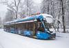 Tram 71-931M (-Vityaz-M-) (ssajiji) Tags: canon canon1785 canon1785f456 canon7d moscow russia tram vityazm white landscape nature snow snowfall tramcar vehicle winter ngc