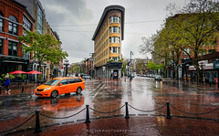 The iconic Hotel Europe building, Gastown (YL168) Tags: hotel rain gastown downtownvancouver sony a6000 sonyflickraward