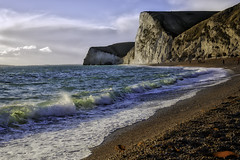 Awesome and magic place .. (Julie Greg) Tags: landscape nature canon5dmarkiv sea colours rock sky water beach ocean