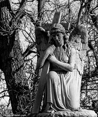 "Please avoid commenting, ""don't blink."" (Jim Frazier) Tags: 2018 20180127photodrive 5000people bw bluffcitycemetery elgin angel art atmospheric blackandwhite cemeteries cemetery concrete contemplation cook cookcounty creepy cross desaturated dreary eerie ghostly gloomy granite graves gravestone graveyard haunted headstones il illinois january jimfraziercom kane limestone marble markers melancholy memorials monochrome monuments mysterious mystery old prayerpraying q3 religion religious sculpture slab somber spooky statuary statue statues stone tomb tombstones trees unworldly weathered winter worn decay f10"