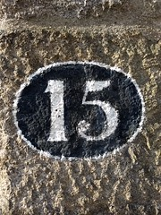 15 (3) (Bobfantastic) Tags: aberdeen scotland uk city urban granite numbers paint font texture decay historical preservation