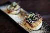20180110-17-Smoked sardines on mini steamed buns at The Lounge by Frogmore Creek in Hobart (Roger T Wong) Tags: 2018 australia frogmorecreekcity hobart iv metabones rogertwong sigma50macro sigma50mmf28exdgmacro smartadapter sonya7ii sonyalpha7ii sonyilce7m2 tasmania thelounge bun dinner food restaurant sardine smoked soy springonion