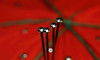 """Pins (Millie Cruz * """"On and Off-Busy"""") Tags: pincushion tomato red pin metal pins macro macromondays lessthananinch"""