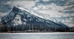 Vermillion winter (Edna Winti) Tags: alberta winter snow mountrundle banffnationalpark vermillionlake ednawinti potw2018 852