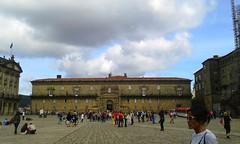Destino (mnovela2293) Tags: santiago compostelaobradoiro plaza peregrinossanto galicia españa hostalreyescatólicos antiguo lujoso