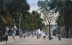 1927 Enschede (Steenvoorde Leen - 6 ml views) Tags: ansichtkaart briefkaart card postcard kart postkarte cardar postal tarjeta carta korespodenzkarte correspodenzkarte brefort cartolina listek korespodencni old postcards geschiedenis historrie history holland netherlands 1927enschede markt