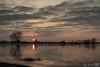 Hoogwater IJssel (Josette Veltman) Tags: high water level highwaterlevel hoogwater wijhe ijssel ijsseldelta rivier river sunset zonsondergang clouds wolken landschap landscape nature natuur overijssel salland