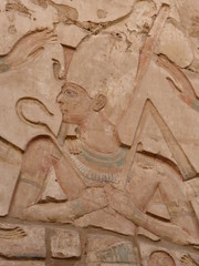 King in White Crown, Karnak (Aidan McRae Thomson) Tags: karnak temple luxor egypt relief carving ancient egyptian