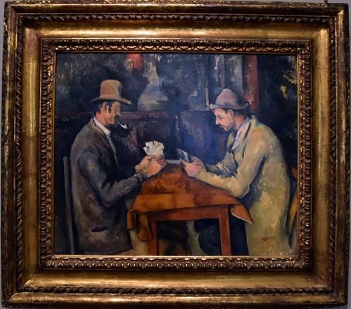 The Card Players, Paul Cézanne