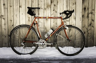 Pinarello cyclocross (steel frame ca. late 1990s/early 2000s)