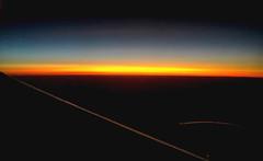 Australia Flying Sunrise (Andy.Gocher) Tags: andygocher iphone6s australia sydney flying windowseat aeroplaneseat aeroplanewindow aerial a380 sunrise sun etihad airline 35 000ft cruse