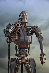 Terminator (PentlandPirate of the North) Tags: britishironworks oswestry shropshire terminator steel iron ~flickrinnes flickrinnes
